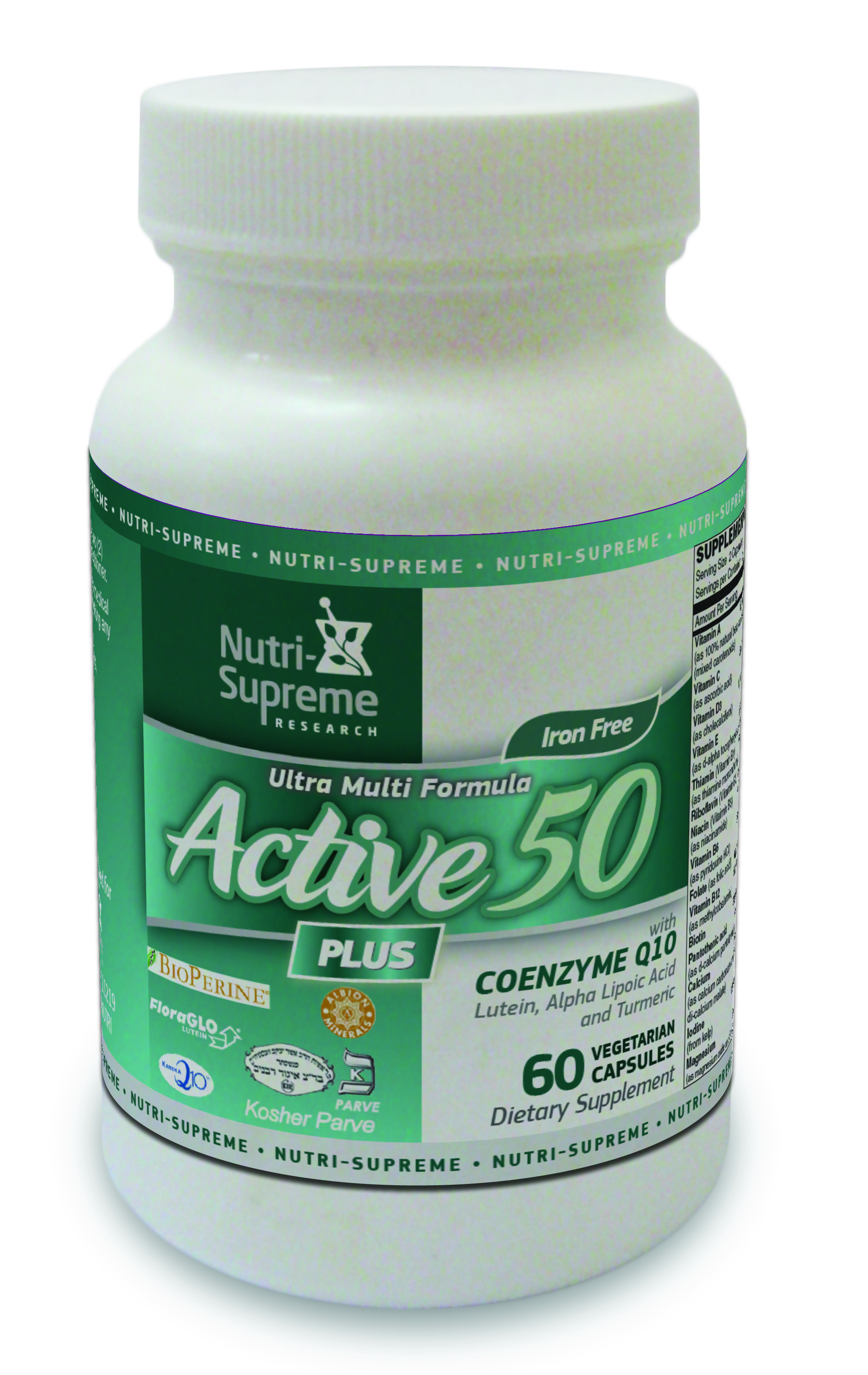 Active 50 Plus - 60 Veg Capsules