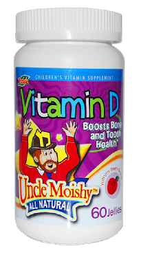Uncle Moishy Vitamin D-60 Jellies