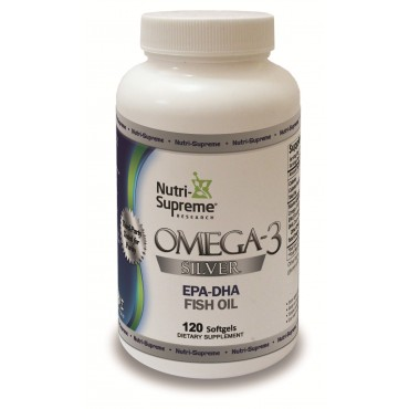 Omega-3 Silver Fish Oil-120 Softgels BUY 1 GET 1 FREE